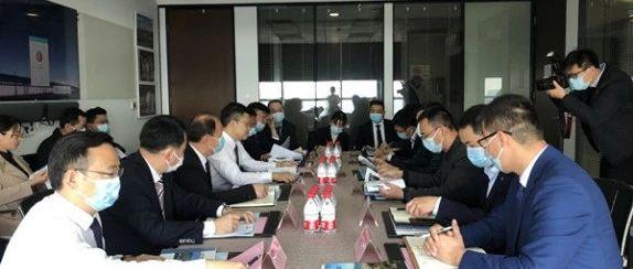 高靖生帶隊赴上海與東方希望集團洽談 雙方合作成果進